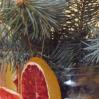 Новогодний декор. Грейпфрутовое продолжение