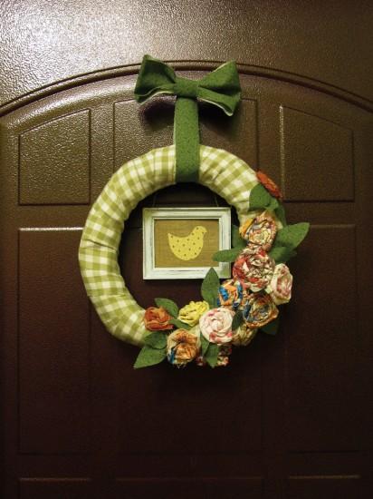 венок на дверь