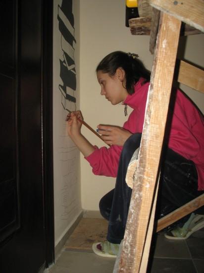 роспись стен мастер-класс