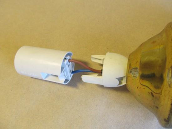 ремонт светильника