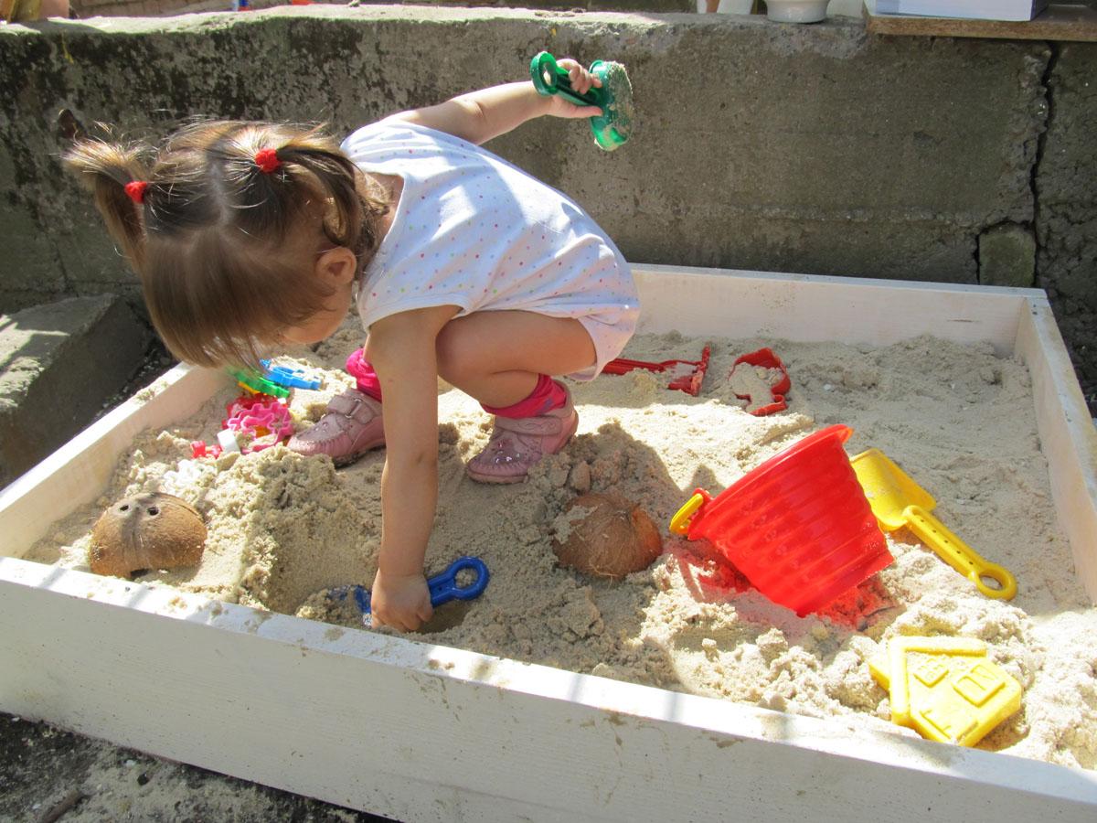 Песочница для пасхи своими руками