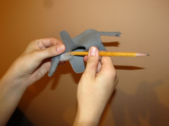 felt elefant tutorial