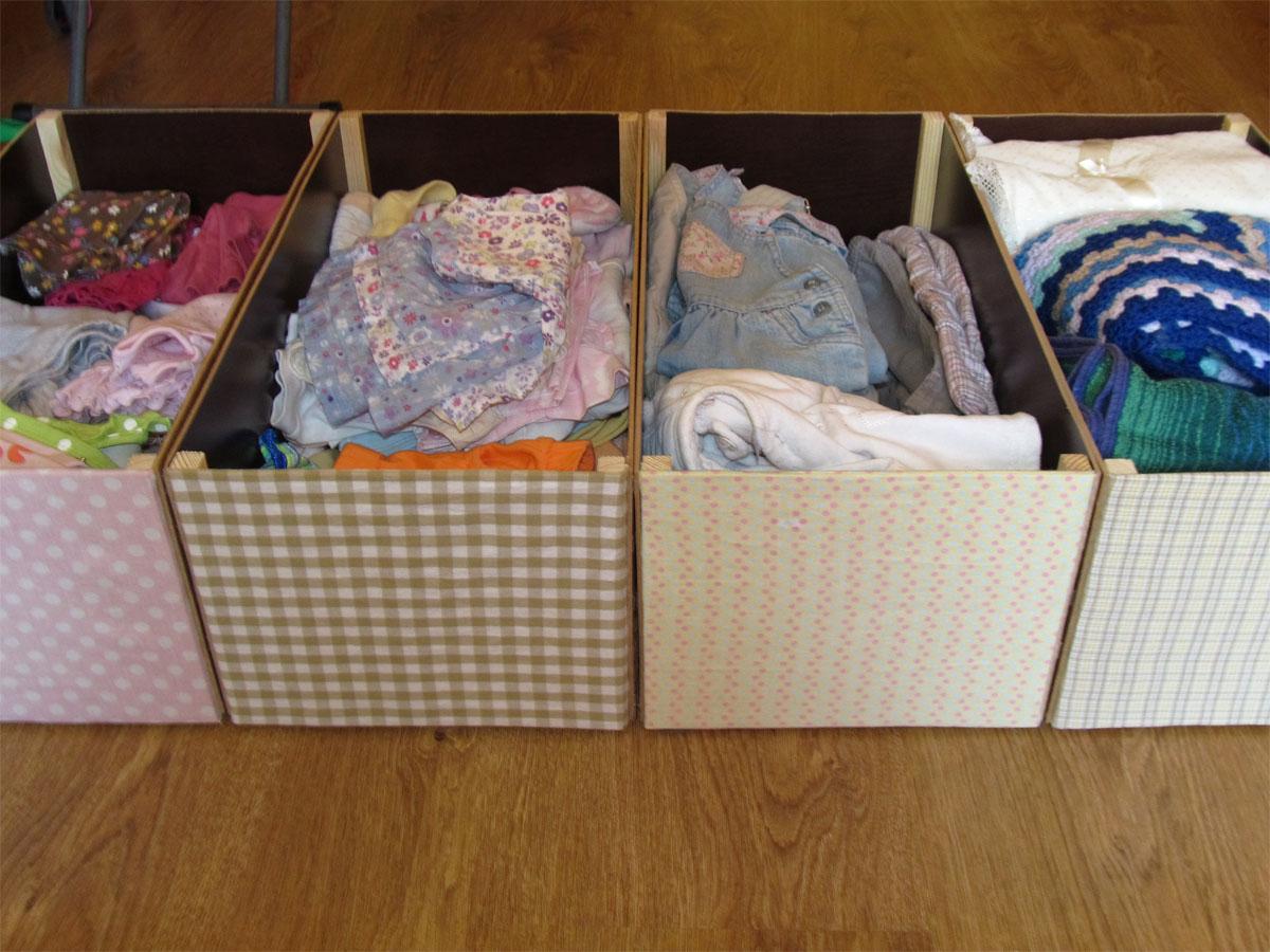Текстильная коробка для хранения вещей своими руками 352