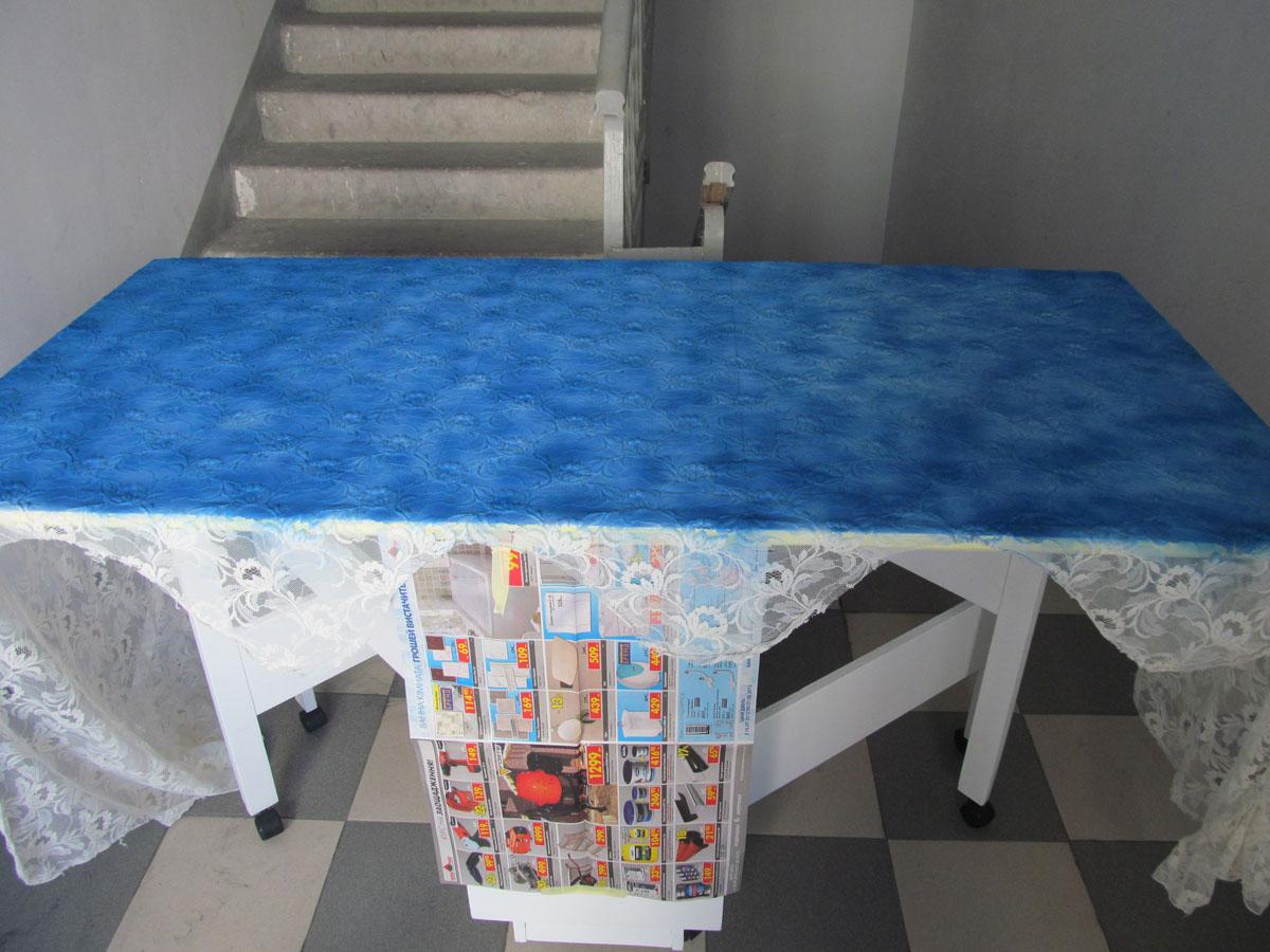 Покраска столика ажуром своими руками