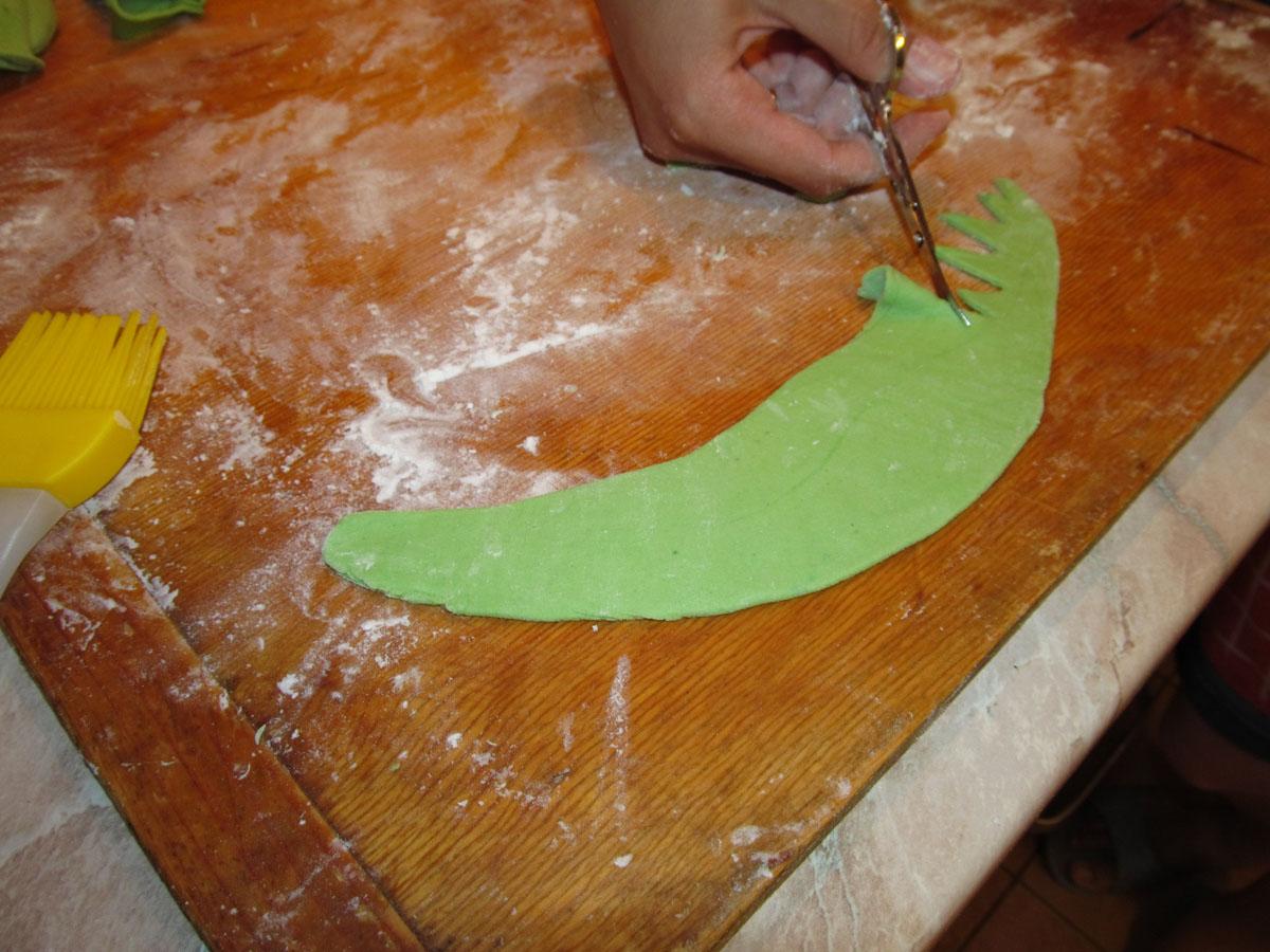 Как сделать мост из мастики для торта
