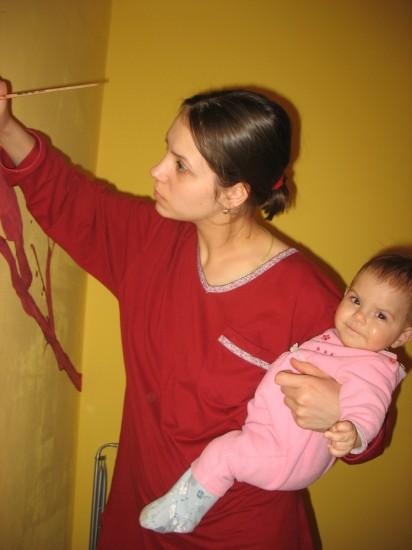 роспись стен своими рукамироспись стен своими руками