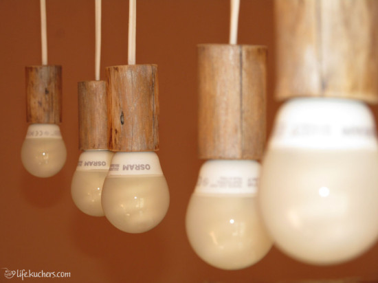 как сделать светильник своими руками