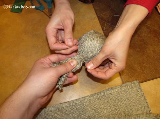 Как сделать новогоднюю гирлянду своими руками?