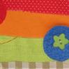 Милейшая ёлка из ткани, фетра и пуговиц за 1 час