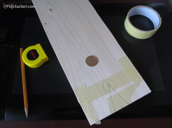 подставка гаджет крепление для работы с ручным лобзиком