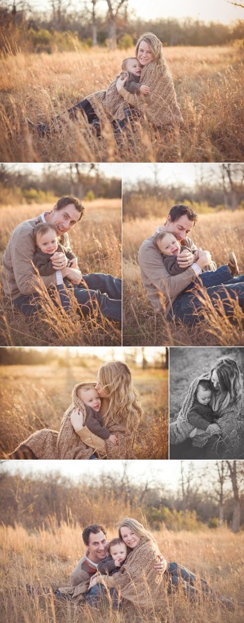 Нейтральные цвета в семейной фотосессии
