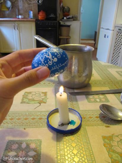 традиционная славянская украинская пасхальная писанка мастер-класс