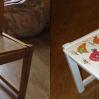 Реставрация стула, птички и весна!