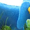 Слон из фетра