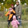 Осенняя прогулка и семейная фотосессия